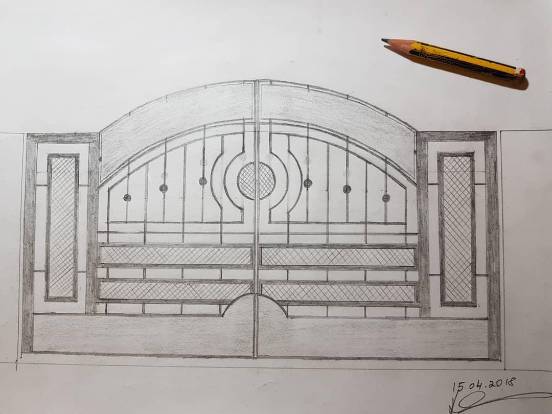 Dual_Swing_Automatic_Gate_Danville_CA